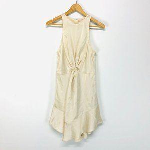 Keepsake THE LABEL Buttery Pale Yellow Mini-Dress
